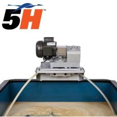 Oil Skimmer 5H Brill® Το μεσαίο μοντέλο για απομάκρυνση λαδιών