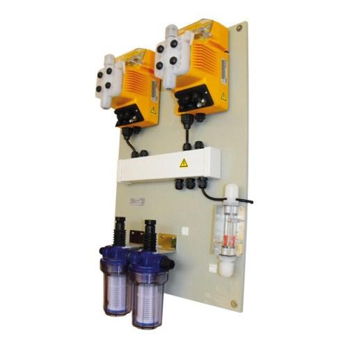 Χλωριωτής και Ρυθμιστής pH σε Πισίνες