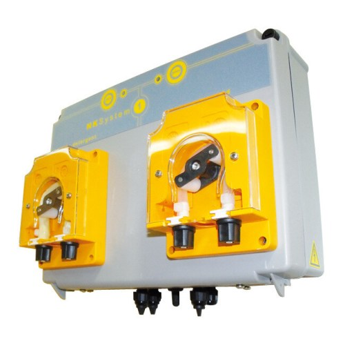 Automatic System with 2 Peristaltic Pumps