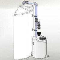 Σύστημα δέσμευσης ατμών για HCl