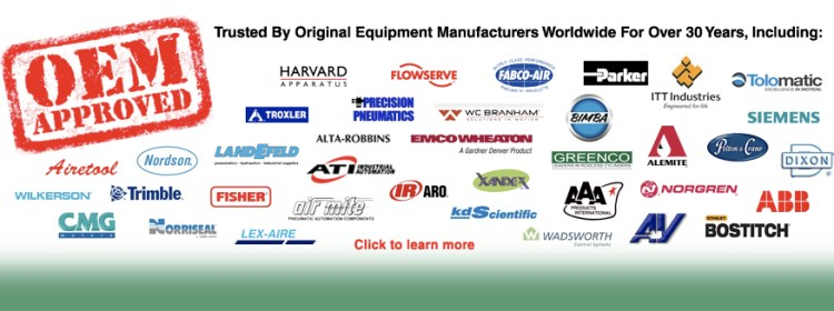 OEM Approved, Trusted by Original Equipment Manufacturers for over 30 years