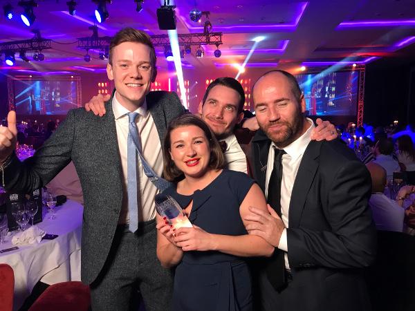 Adthena win best tech platform at the DADI awards