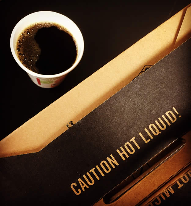 Caution Hot Liquid!