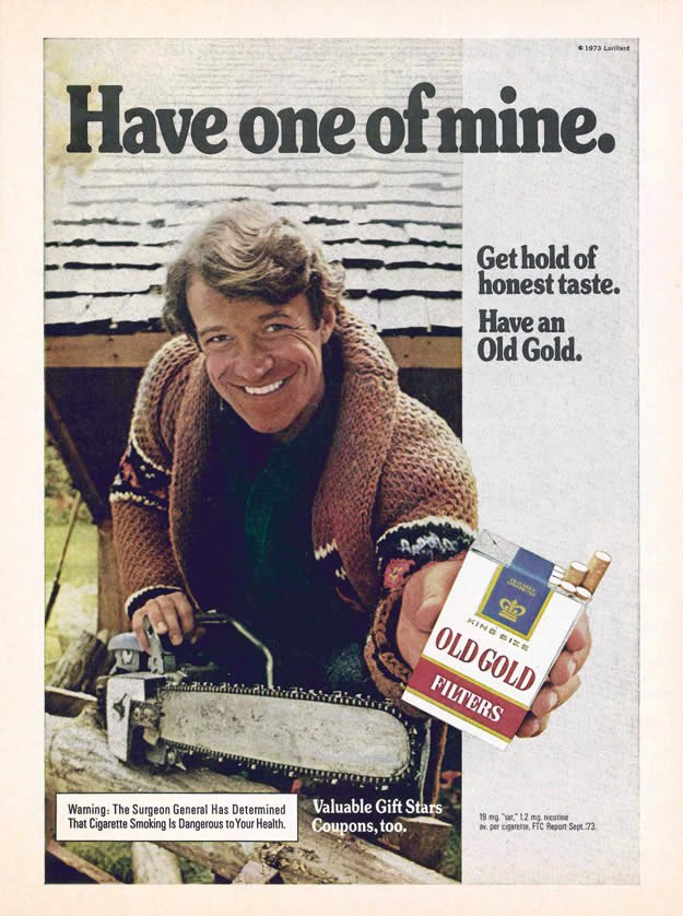 cigarette ads Archives   Clayton Hove's Ad to the Bone
