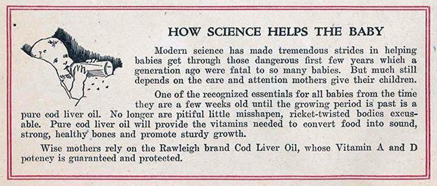 Rawleigh's Cod Liver Oil