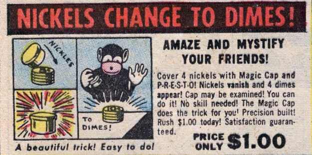 Nickels Change to Dimes!