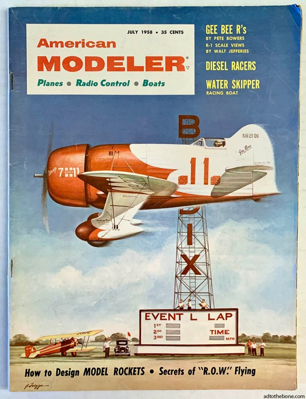 American Modeler magazine - July 1958