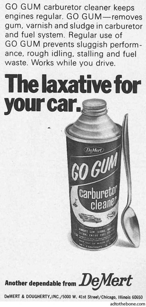 DeMert GO GUM ad