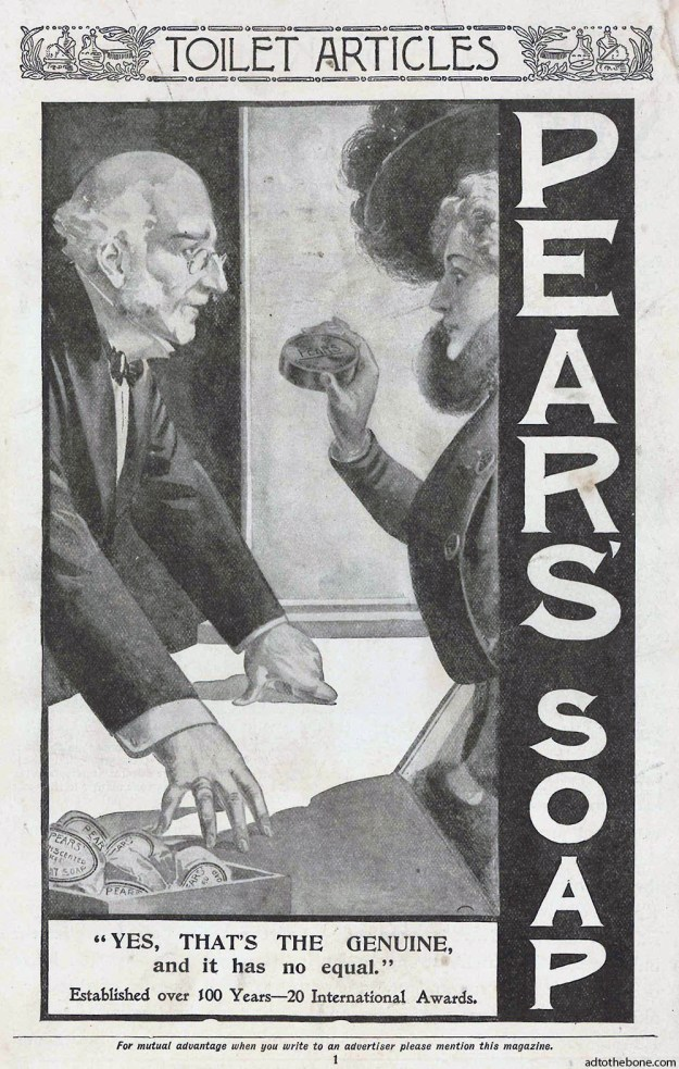 1898 ad for Pear's Soap
