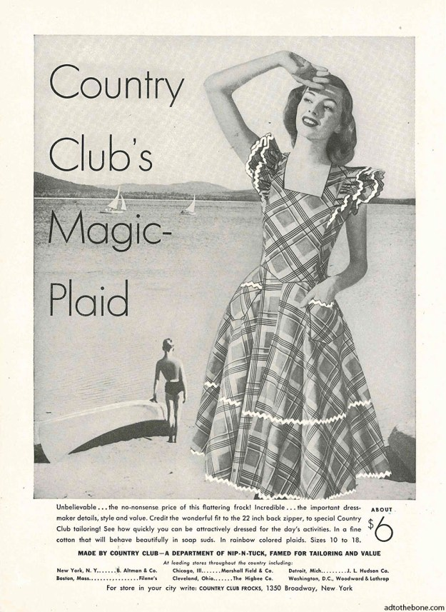 1948 magazine ad for Country Club