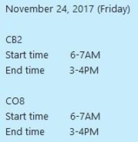 24 November 2017