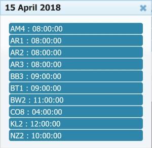 15 April 2018