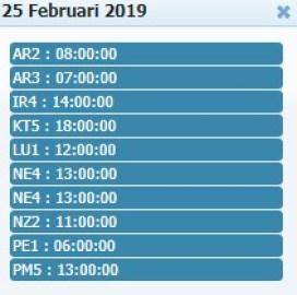 Jadwal Sabung Ayam 25 Febuary 2019