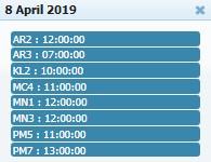 Adu Ayam PW - Jadwal Sabung Ayam 08 April 2019