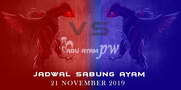 Prediksi Jadwal Online Sabung Ayam 21 November 2019