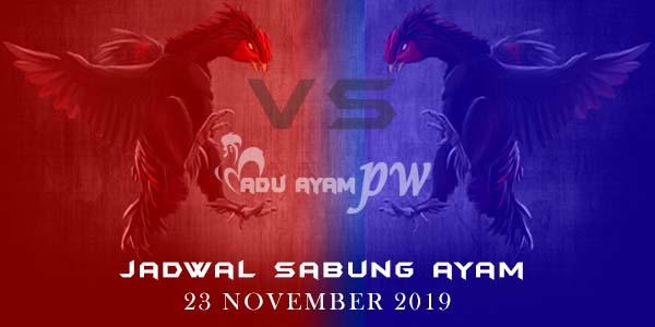 Prediksi Resmi Pemenang Sabung Ayam 23 November 2019