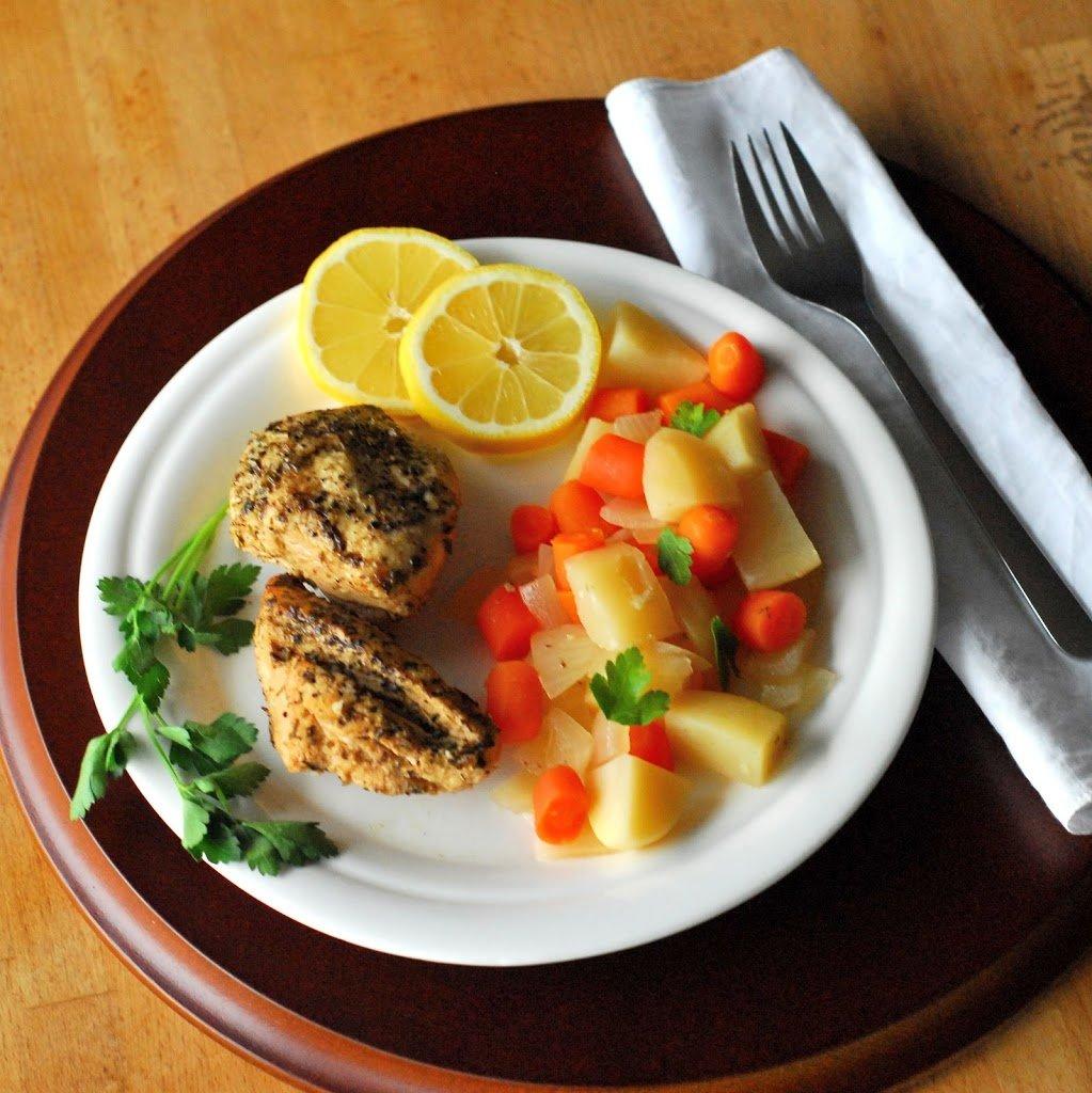 Crock Pot Chicken Recipes Easy: Lemon Crock Pot Chicken