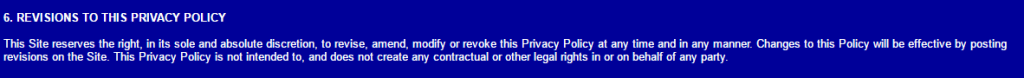 SexMessengerMac.com T&C Revisions