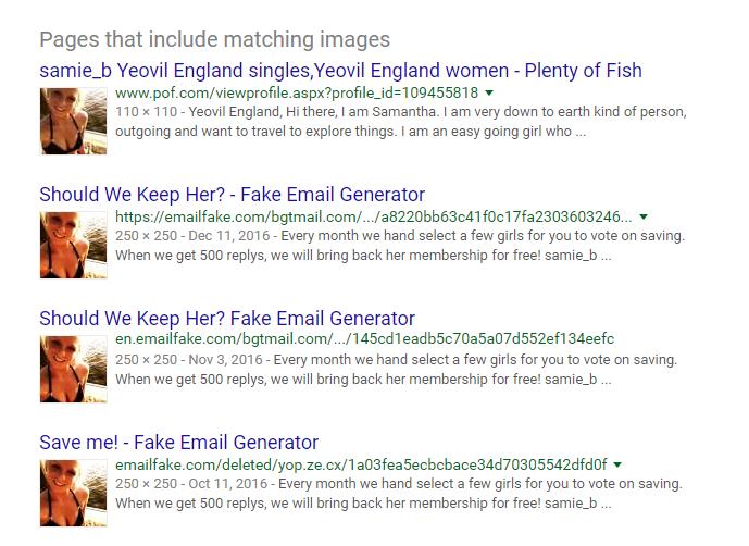 Freelifetime booty calls fake email generator