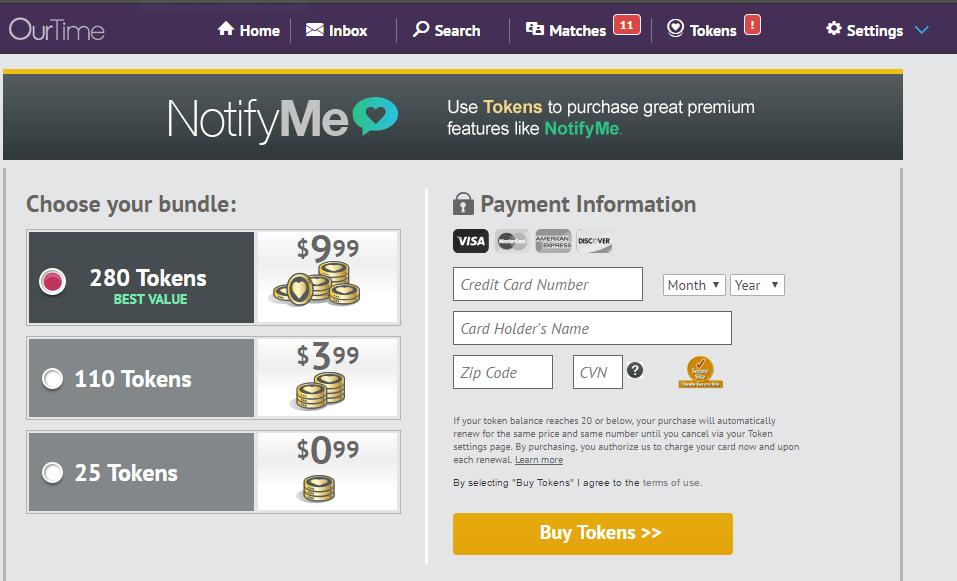 Ourtime.com-extratokens