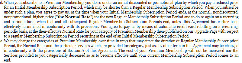 Flirting Students changes to premium membership