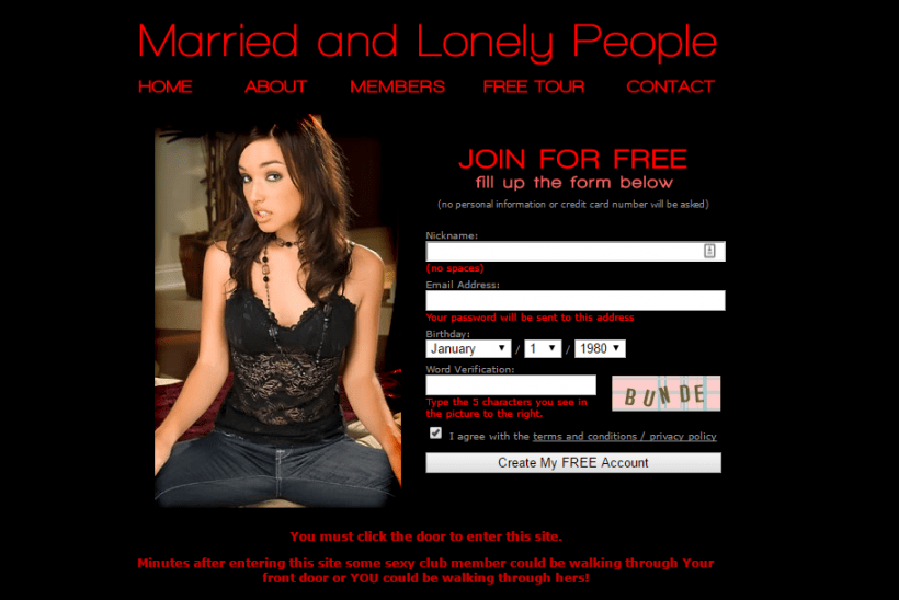 MarriedandLonelyPeople.com