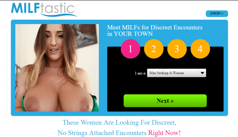 Milftastic.com screencap