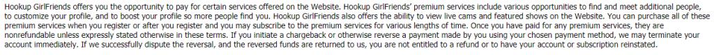 Hookup Girfriends premium services
