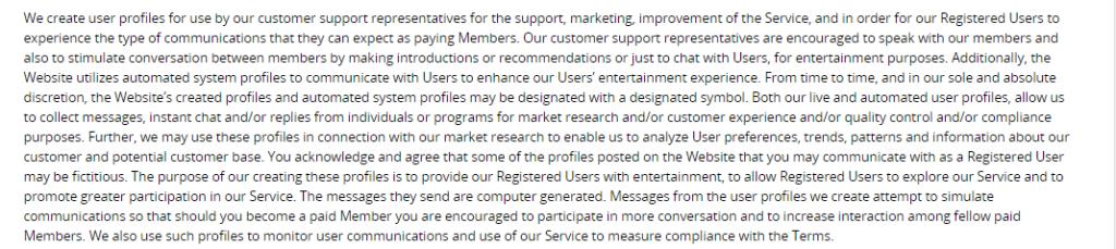 Shagtogether user profiles