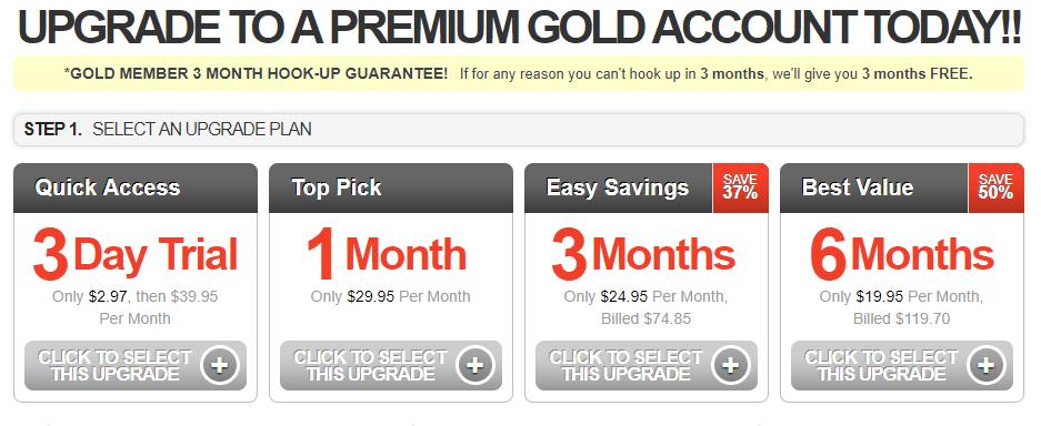 Free Black Hookup fees