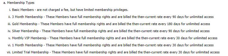 Easy Granny memberships