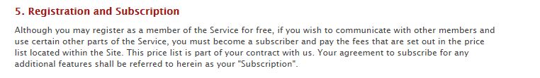 F-Buddy subscription