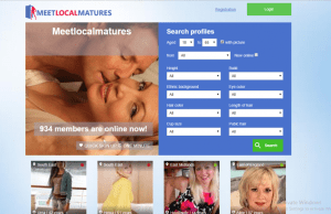 MeetLocalMatures.com screencap