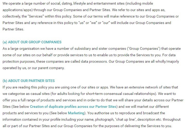 Steamy Locals group companies