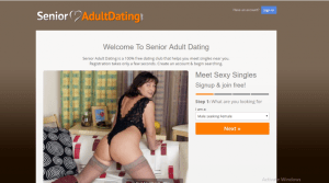 SeniorAdultDating.com screencap