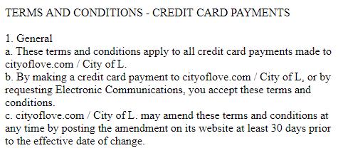 CityofLove review electronic communications