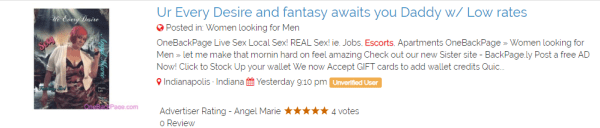 OneBackPage.com review dating and escort opportunities mixed2