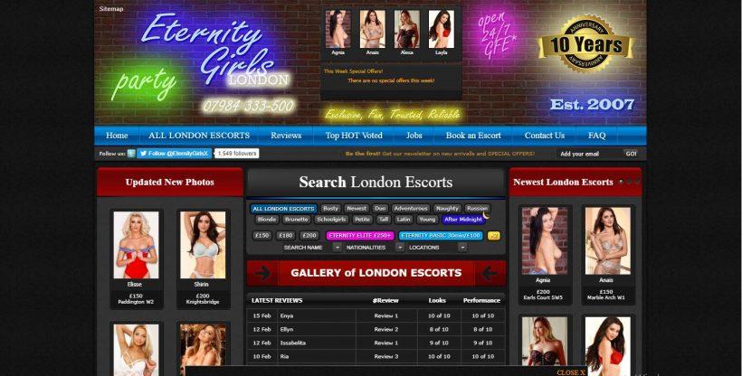 Eternity Girls Review screenshot