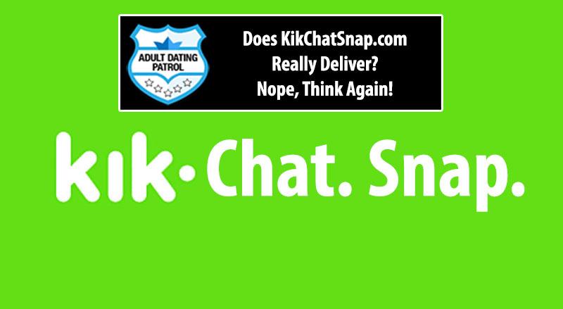 Kik Chat Snap Scam