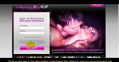 cheating hookup review