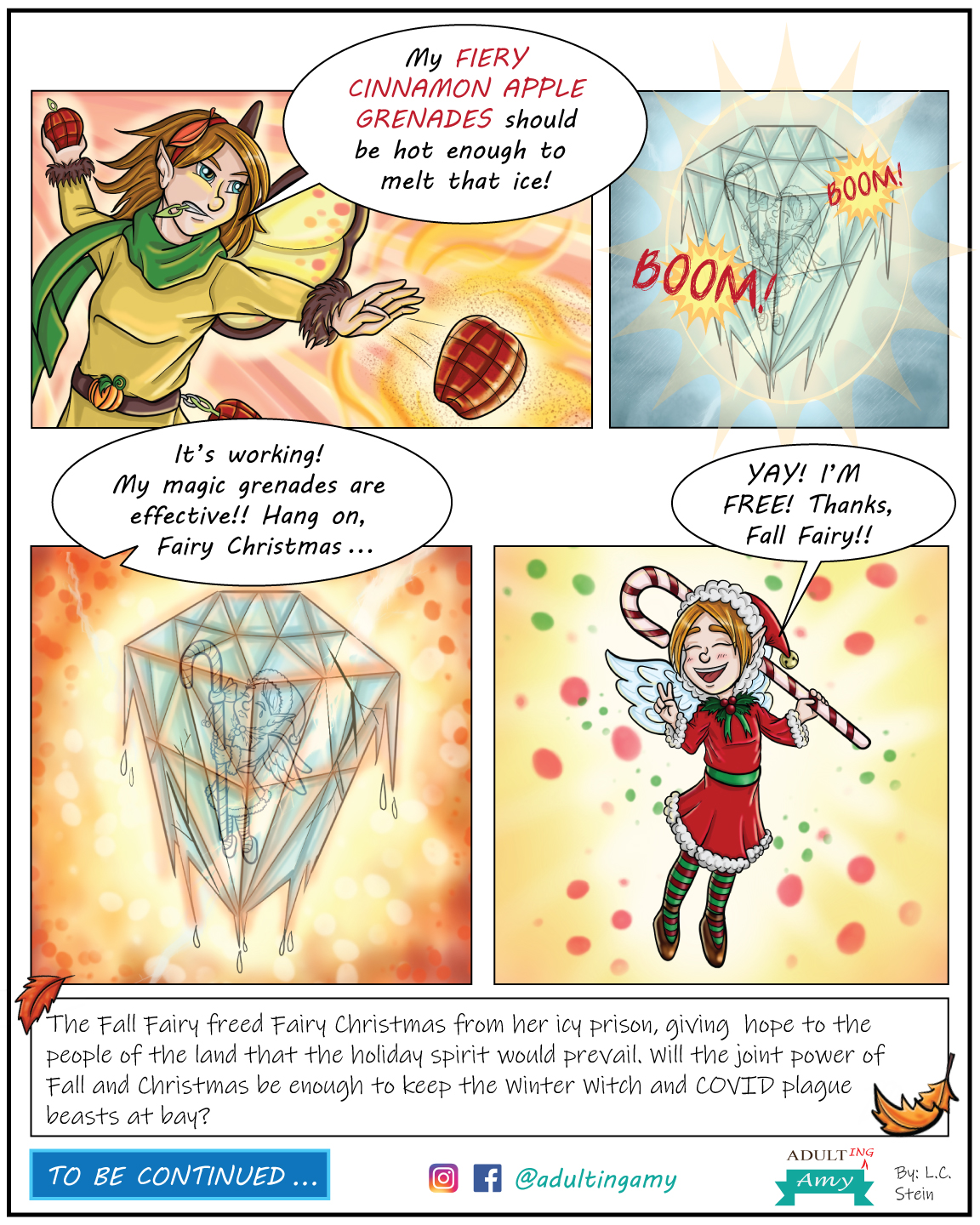 Fall Fairy v.  COVID-19 (Part 5)