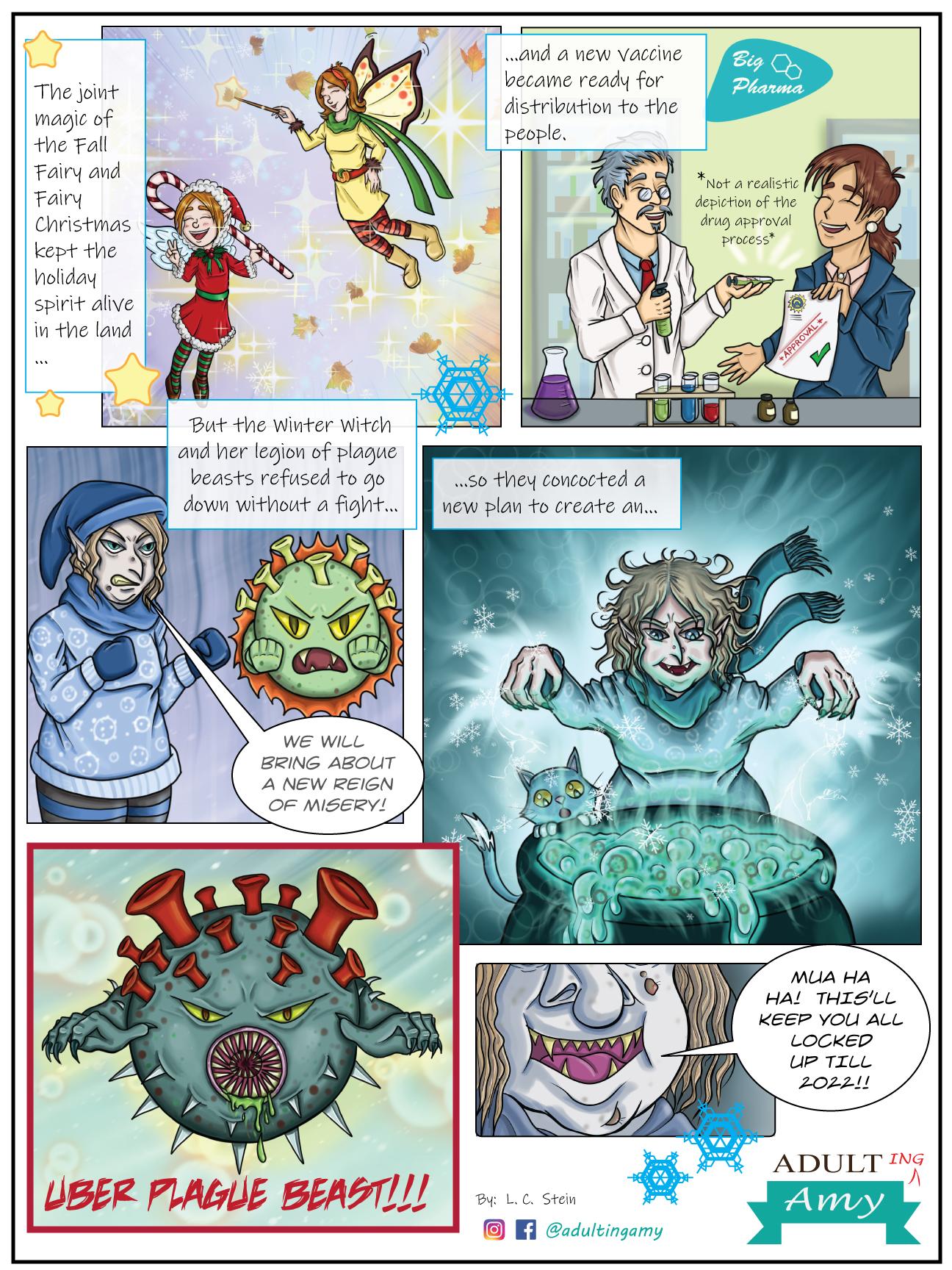 Fall Fairy vs. COVID-19 – Part 6