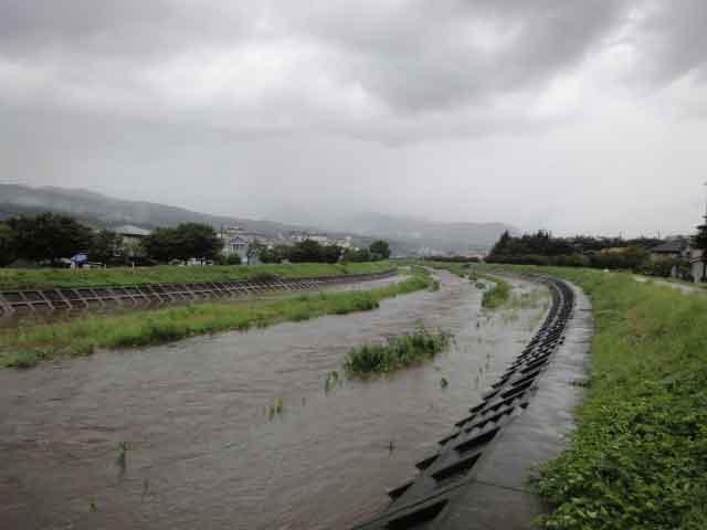 いきなり出来始める大人ニキビと雨で川が決壊する様子は似ています