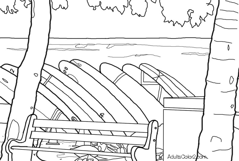 beach coloring pages imagine you 39 re there without a care