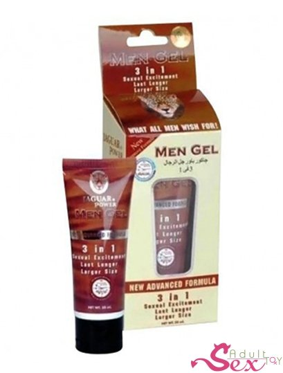 Jaguar Power 3 In 1 Penis Enlargement Cream - adultsextoy.in