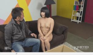 Screenshot of free porn video in HEYZO 7