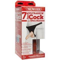 Doc Johnson Vac-U-Lock Set – 7″ UR3® Ultra Harness