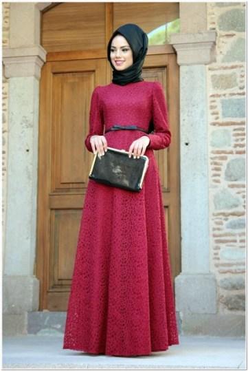 Gaun Pesta Wanita Muslimah Paling Elegan