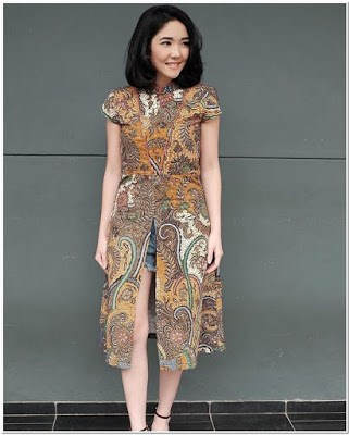 Model Baju Batik Casual