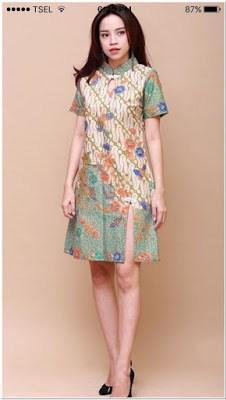 Model Baju Batik Casual Remaja